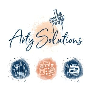 Arty Solutions Logo and Branding