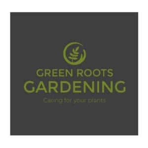 Logo Design Green Roots Gardening